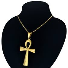 drop egyptian ankh cross