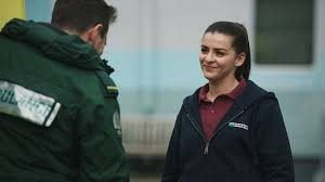 Casualty airs Gem Dean's final scenes as Rebecca Ryan bows out
