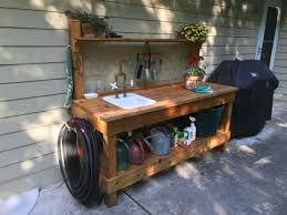 diy potting bench ideas to give your