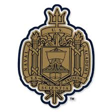 Naval Academy Crest Decal