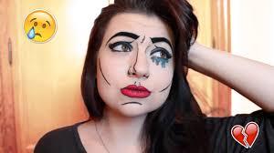 snapchat pop art filter makeup tutorial