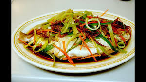 Healthy Steamed Ginger Whole Fish ...