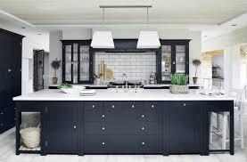 black kitchen ideas bold modern home