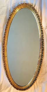large vintage wall mirror gold gilt