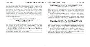 No. 10 CHESTER COUNTY LAW REPORTER 3/10/16 ?· CHESTER COUNTY, PENNSYLVANIA  ... Township, Chester County,… - [PDF Document]