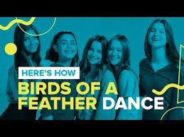 "Chicken Girls Teach the ""Birds of a Feather"" Dance | Dance videos, Bird  feathers, Feather dance"