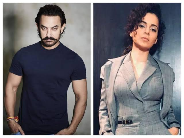 "Image result for Aamir Kangana johan"""