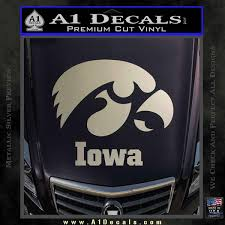 Iowa Hawkeyes Tiger Hawk Decal Sticker A1 Decals