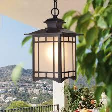 pendant lamp balcony corridor