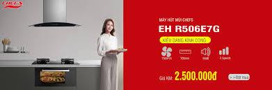 Bếp từ Chefs - Máy hút mùi Chefs EH R506E7G là một phiên...