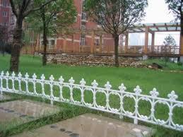 Small Plastic Garden Fence Garden Design Ideas