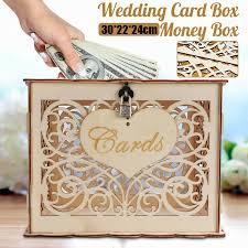 wood diy wedding wooden box mr mrs