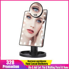 makeup mirror 1x 10x magnifying mirrors