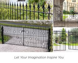 Made To Measure Gates Fencing Railings Metal Gates Direct