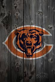 chicago bears wood iphone 4 background