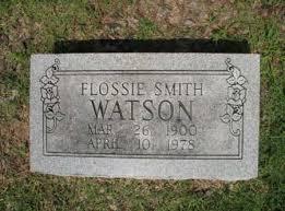 WATSON, FLOSSIE - Cross County, Arkansas | FLOSSIE WATSON ...