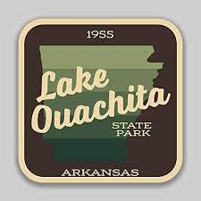 Amazon Com Jb Print Lake Ouachita State Park Explore Wanderlust Camping Arkansas Vinyl Decal Sticker Car Waterproof Car Decal Bumper Sticker 5 Kitchen Dining