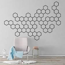 Molecules Geometric Wall Decal Kuarki Lifestyle Solutions