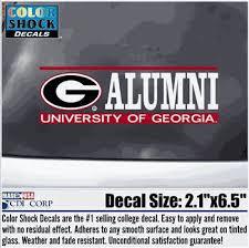Uga G Alumni Decal