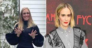 Adele comparisons are fine with AHS actress Sarah Paulson   Metro News