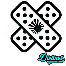 Jdm Band Aid Sticker Jdm Stickers Vinyl Decals Vinyl Decal Stickers