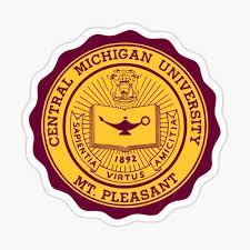 Central Michigan University Stickers Redbubble
