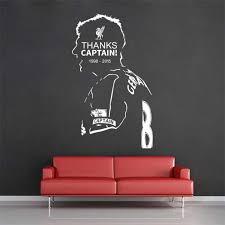 Steven Gerrard Liverpool Football Player Vinyl Wall Art Decal
