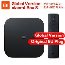 Global Version Original Xiaomi Mi Box S 4 Android 8.1 4K QuadCore Smart TV  Box #Unbranded