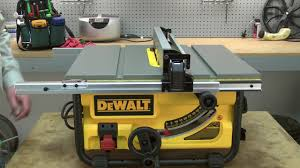 Dewalt Table Saw Repair How To Replace The Fence Youtube