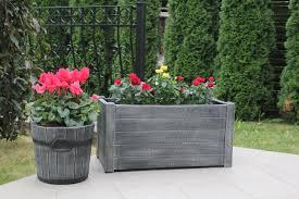wood effect garden planters roto group uk