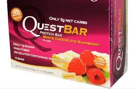 protein bar white chocolate raspberry