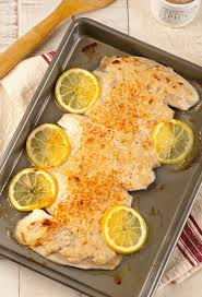 Oven-Baked Fish with Caesar Topping ...
