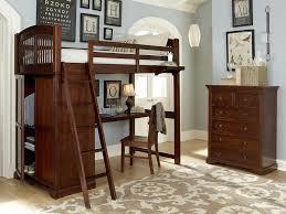 Hillsdale Kids And Teen Youth Walnut Street Locker Loft With Desk 9060nd Bennington Furniture