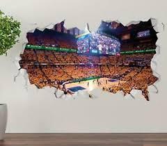 Indiana Pacers Bankers Fieldhouse Custom Vinyl Wall Decals Peel Stick Op214 Ebay