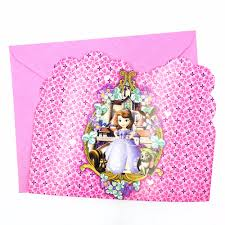 6 Unids Set Princesa Sofia De Disney Suministros De Fiesta De