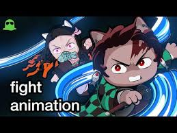 demon slayer cats fan animation heyinz blog