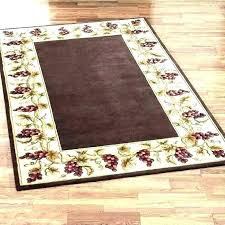 throw rugs kitchen washable without