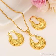 ethiopian jewelry set pendant necklace