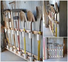 garden tools using pvc pipe