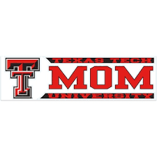 Texas Tech University Car Decals Decal Sets Texas Tech Red Raiders Car Decal Shop Texastech Com