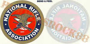 Nra Inside Outside Membership Logo Decals Vinyl Window Sticker Firearms Dtom Gun Ebay