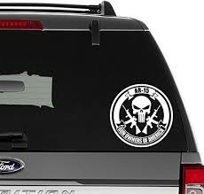 Punisher Decal Vinyl Car Window Sticker Any Size Auto Parts And Vehicles Car Truck Graphics Decals Magenta Cl