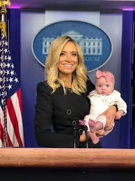 """Kayleigh McEnany on Twitter: """"So special to share this day with my  daughter, Blake. From the podium to Marine One, it is an honor to serve the  American people and share the"""