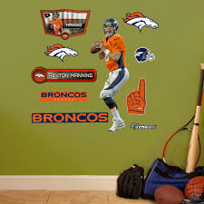 Shop Fathead Jr Peyton Manning Wall Decals Overstock 9610666