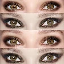 colours to make hazel eyes pop