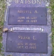 Myrtle Watson (1907-1993) - Find A Grave Memorial