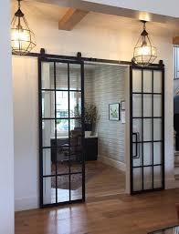 metal sliding barn doors