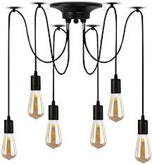 pendant lighting spider ceiling light