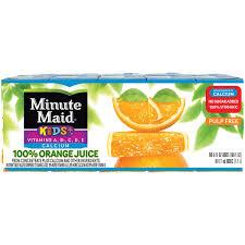 minute maid 100 orange juice 6 fl oz