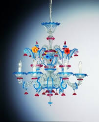 venetian glass chandelier rezzonico